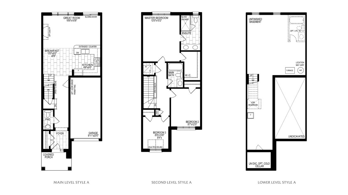 The Lily  -  Floor Plan