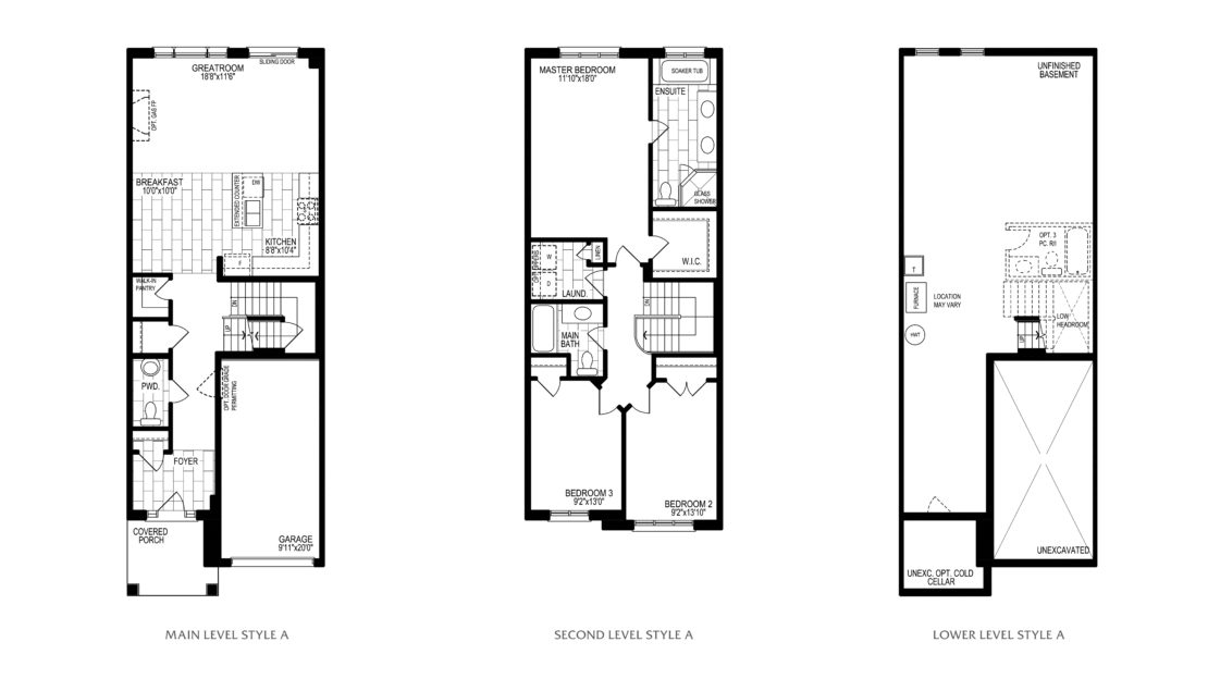 The Orchid  -  Floor Plan