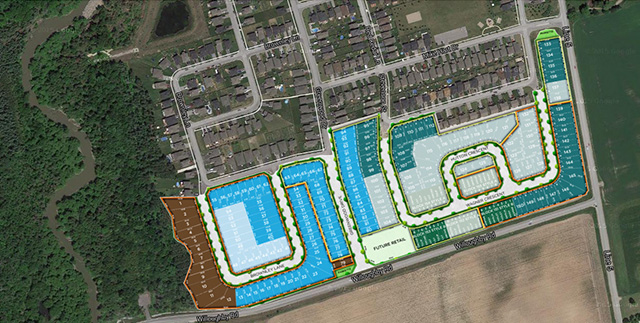 Pine River Angus New Home Site Plan (Original 2015/2016 Site Plan)