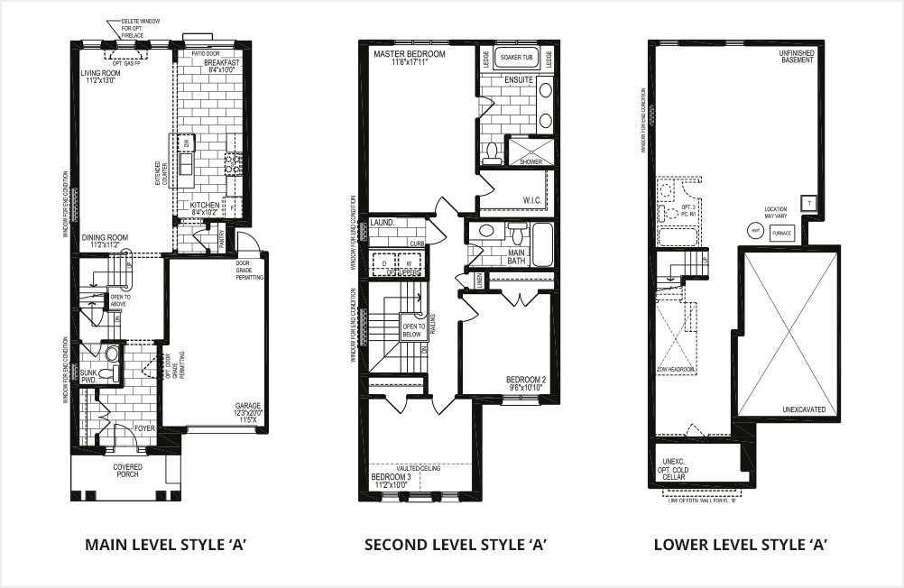 The Orchid (Corner) – Style A  -  Floor Plan
