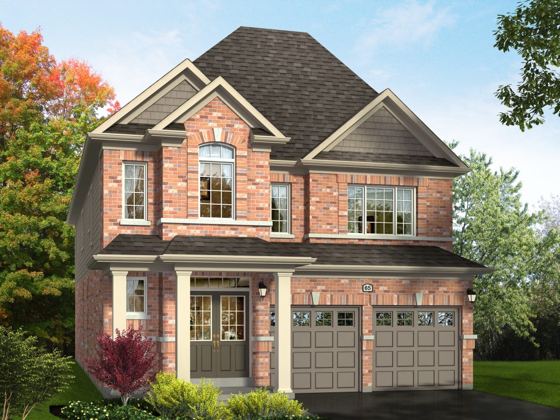 The Winterberry – Style A  -  Style A  /  2850 sq.ft.