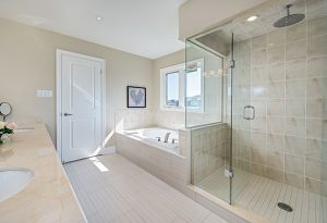 Framed Glass Shower