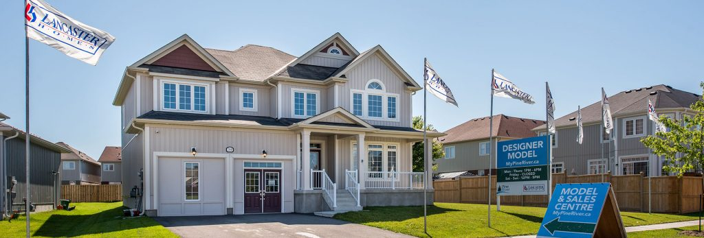 Pine River Sales Centre and Model Home