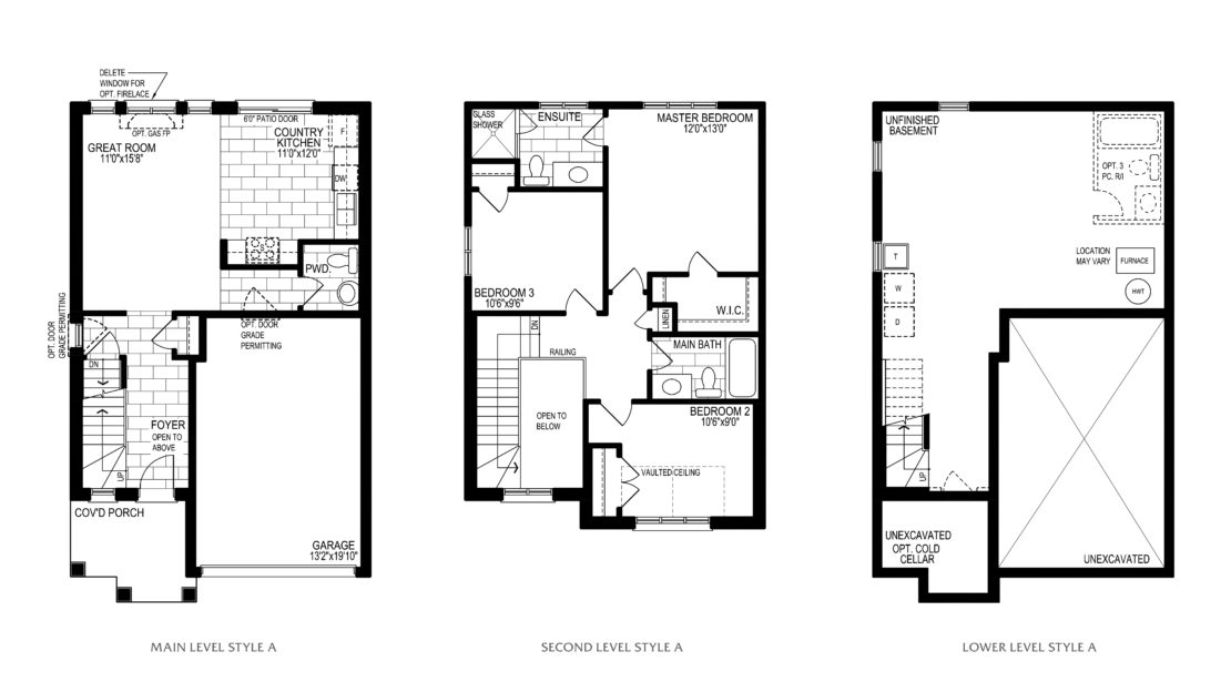 The Chestnut  -  Floor Plan