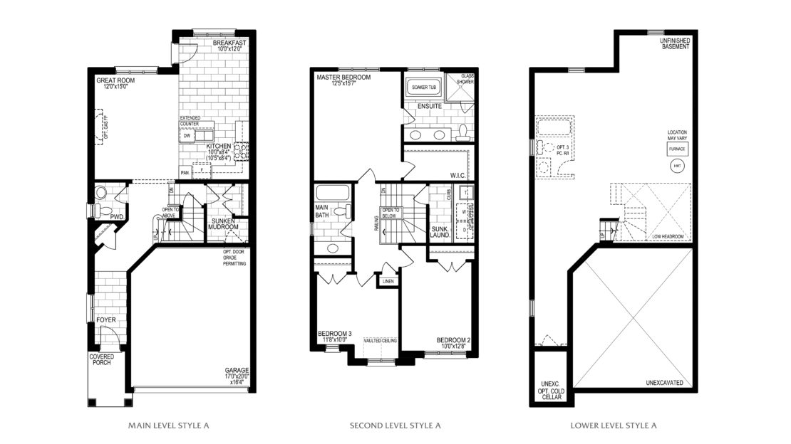 The Holly  -  Floor Plan