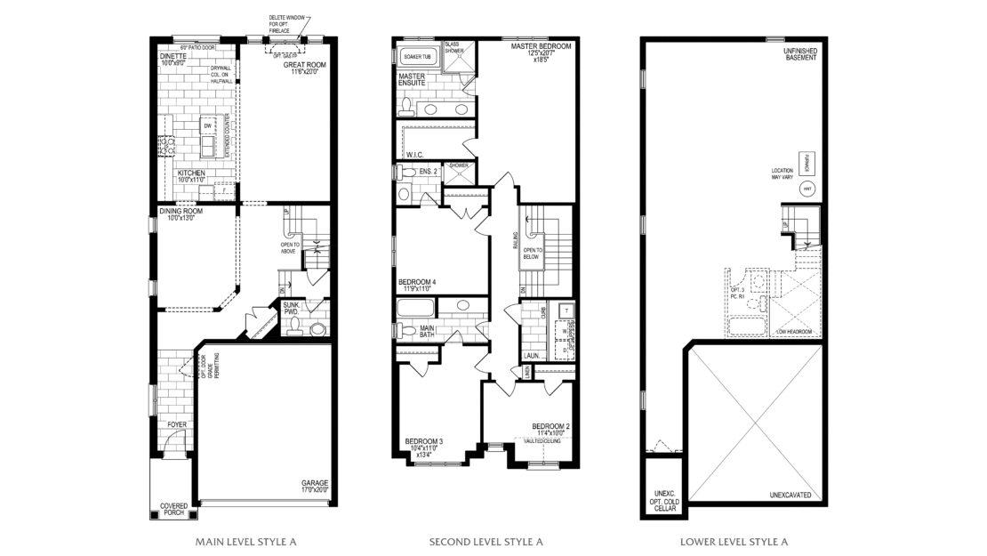 The Mahogany - Floor Plan
