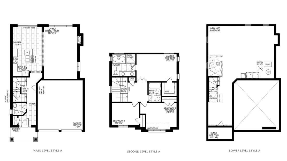 The Birch - Floor Plan