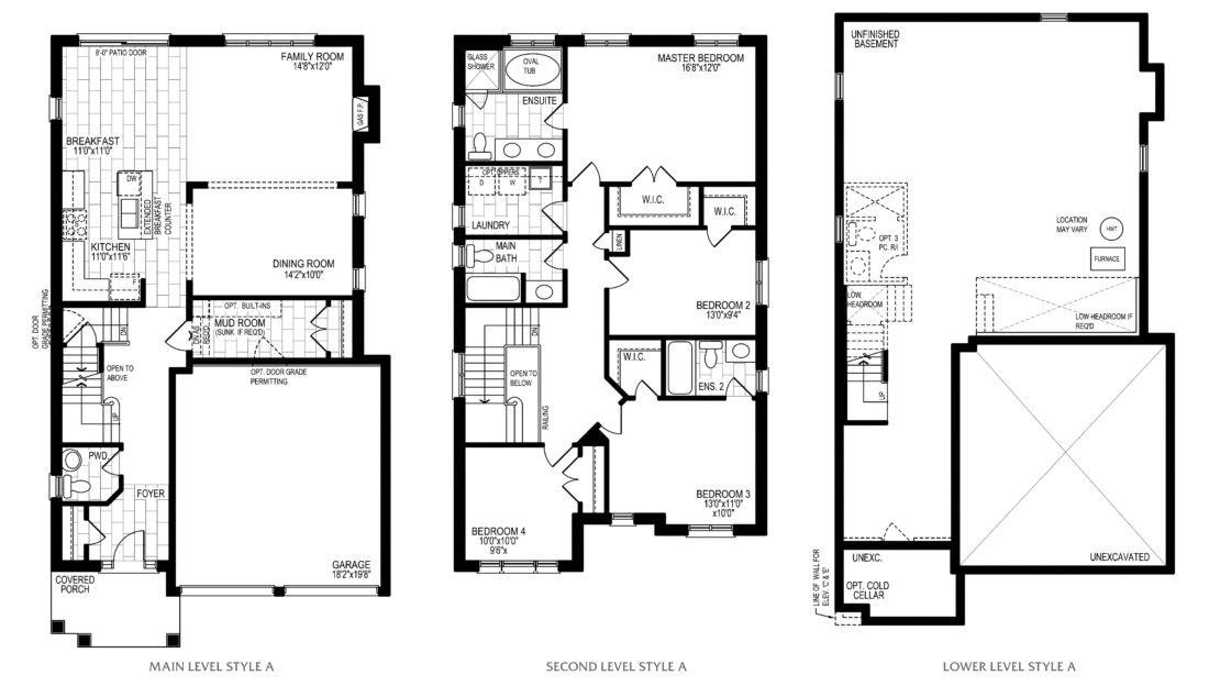 The Cypress - Floor Plan