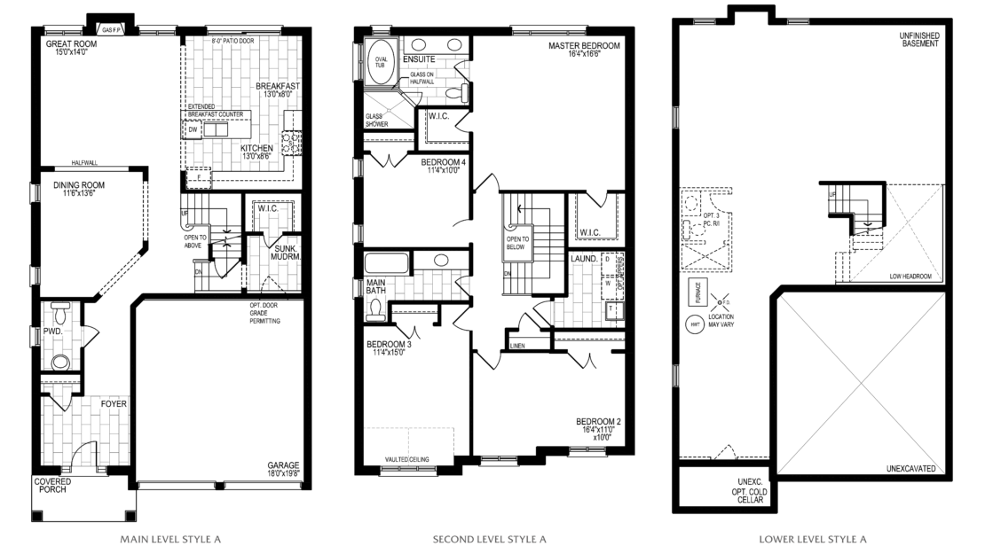 The Winterberry  -  Floor Plan
