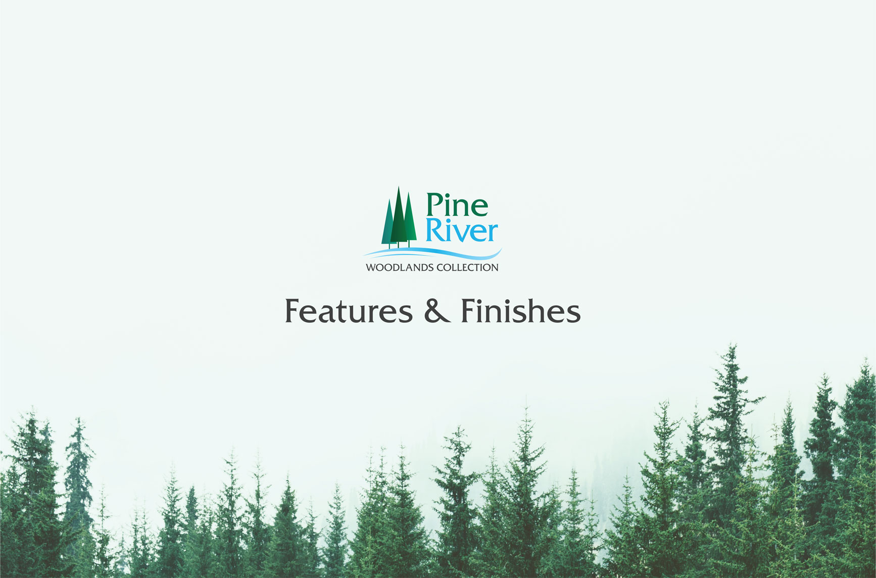 Pine River New Home Features Brochure