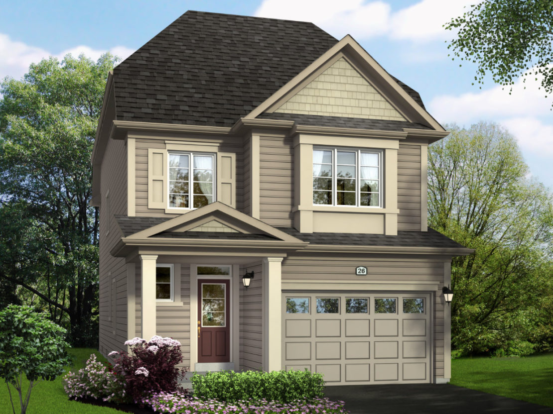 The Juneberry – Style B  -  Style B  /  1550 sq.ft.