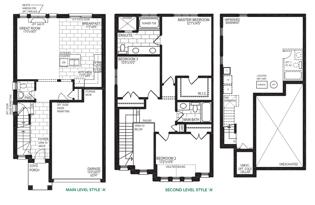 The Juneberry – Style B  -  Floor Plan